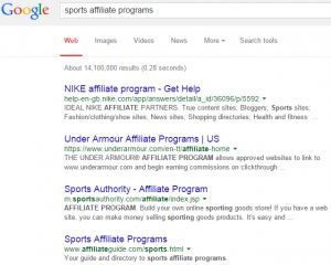 How to find affiliate programs to make money blogging about anything