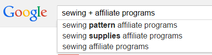 How to find affiliate programs for your blog site