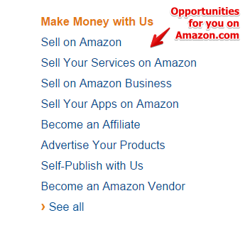 What Amazon.com is about and ways you can make money.