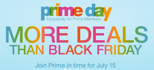 Amazon.com prime day on July 15th