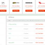 Ebates.com store listing