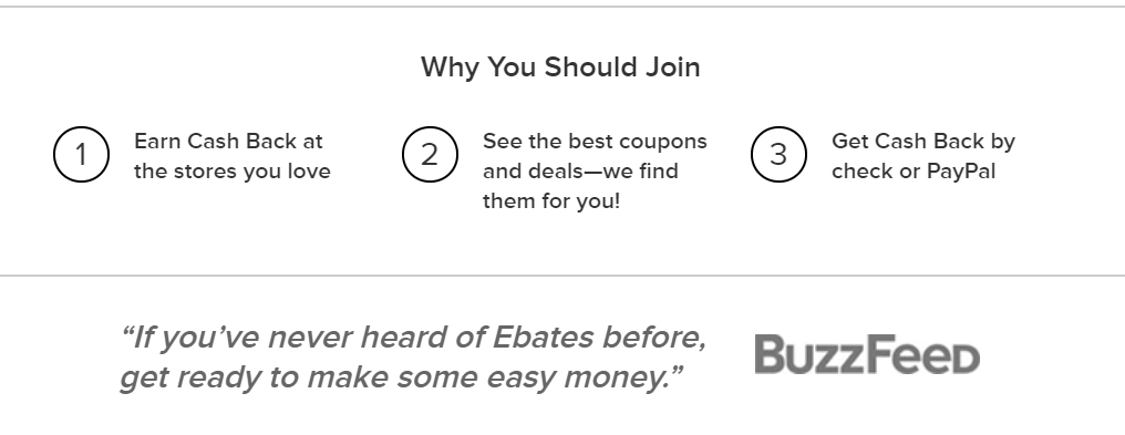 Why join ebates.com