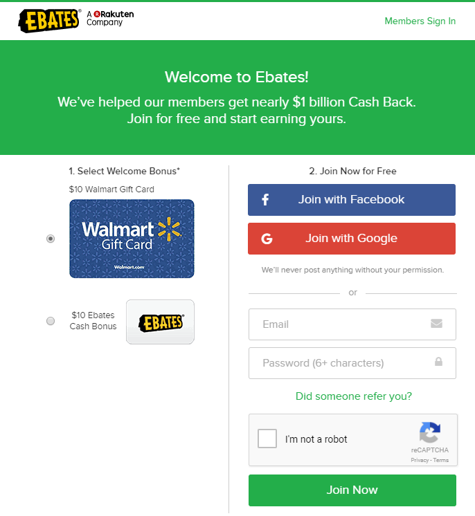 What ebates.com is about